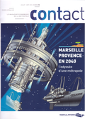 Couverture du magazine contact